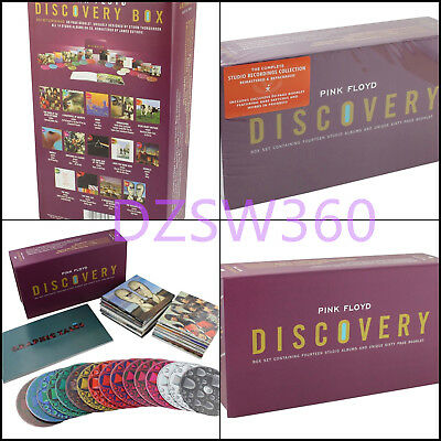 Pink Floyd Discovery 16 Cd Box Set Brand New Sealed Free Shipping To Worldwide