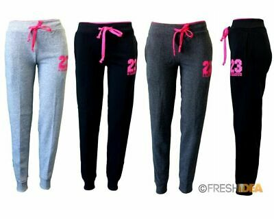 NEW Women's Ladies Soft Fleece Track Pants Trackies Casual Sports - L'AMOUR 23
