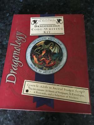 Vintage Dragonology Code Writing Kit (2007)  Buy Now  As New Condition - Buy Now