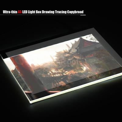 LED Tracing Licht Box Board Tattoo Art A5 Drawing Pad Table Stencil Display A5H3
