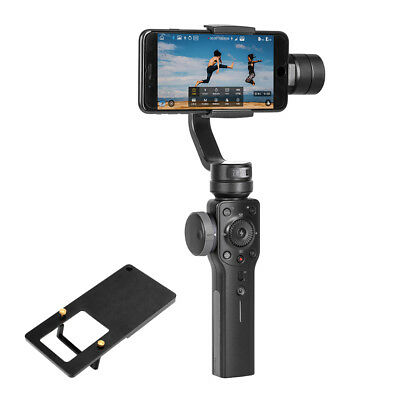 ZHIYUN Smooth 4 Smartphone Handheld 3 Axis Gimbal Stabilizer for iPhone W/ Plate