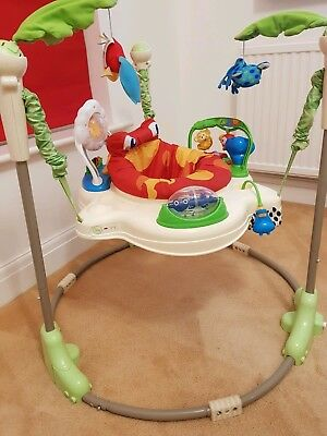 Fisher Price Rainforest Jumperoo - Baby Bouncer