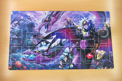 F1664+ FREE SHIPPING YUGIOH TCG Playmat Yubel Custom Playmat With Layout