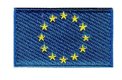 EU / EUROPEAN UNION  Flag Embroidered Patch Badge - Sew or Iron on