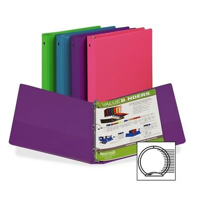 "Samsill Fashion Assorted Value Storage Binder - Letter - 8.50"" X 11"" - 3 X Ring"