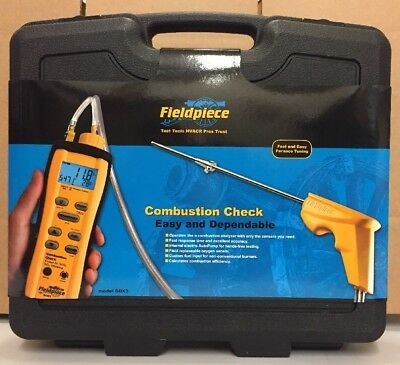 Fieldpiece Sox3 Combustion Checker W/ Auto Pump