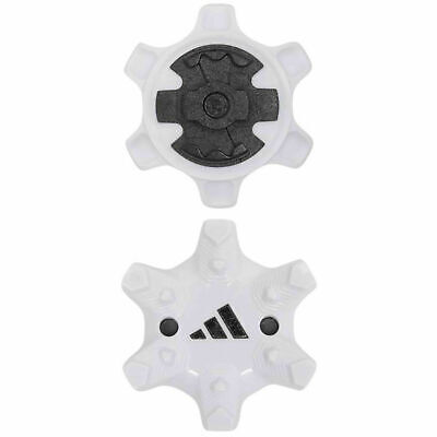 20pcs White Adidas Golf Thintech Soft Cleats Pins Golf Fast Twist Shoe Spikes