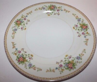 "National China Patricia Pattern 10"" Dinner Plate Japan Colorful Flower Dishes"