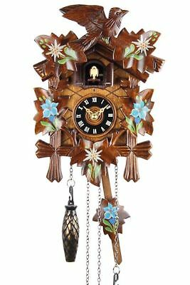 Eble -bemalt 22cm- Cuckoo Clock Cuckoo Clock Real Wood New Battery Powered