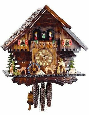 Black Forest House 36cm- Cuckoo Clock Original Black Forest Cuckoo Clock Real