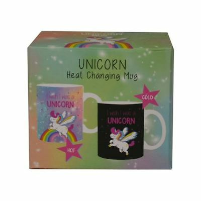Unicorn Heat Changing Colour Mug Tea Coffee Cup