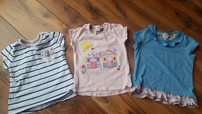 Immaculate Girls Nautical T-Shirt Bundle Boots Mini One 2-3 Years!