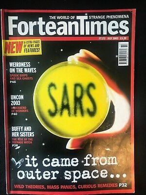 Fortean Times collectible back issues - July 2003 - FT172 - FREE P&P