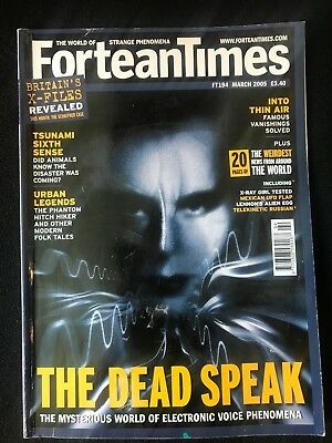 Fortean Times collectible back issues - March 2005 - FT194 - FREE P&P