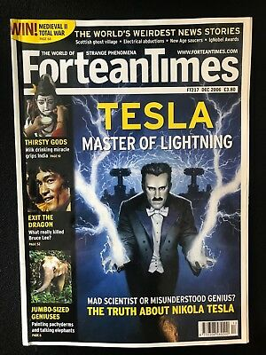 Fortean Times collectible back issues - Dec 2006 - FT217 - FREE P&P