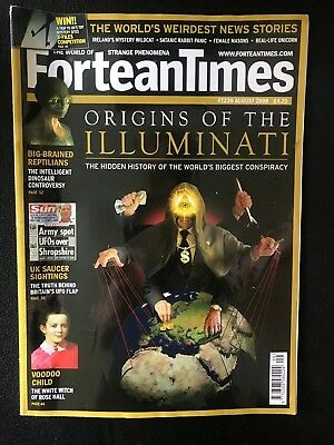 Fortean Times collectible back issues - Aug 2008 - FT239 - FREE P&P