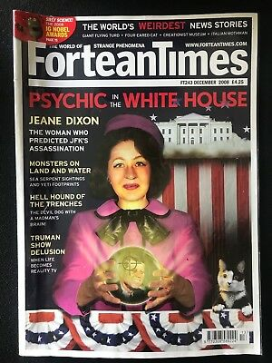 Fortean Times collectible back issues - Dec 2008 - FT243 - FREE P&P