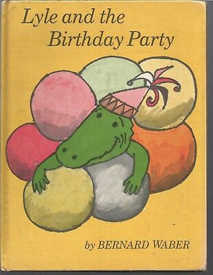 Lyle and the Birthday Party by Bernard Waber Vintage 1966 Weekly Reader