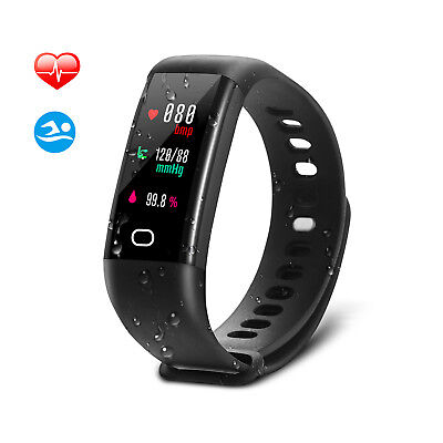 Fitness Tracker Bluetooth Sport Orologio Intelligente Smartwatch Per IOS Android