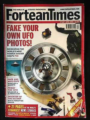 Fortean Times collectible back issues - June 2005 - FT197 - FREE P&P