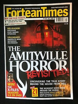 Fortean Times collectible back issues - Dec 2004 - FT190 - FREE P&P