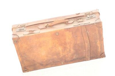 Beautiful Old Suitcase Leather Travel Cases Iconic Retro Design Vintage