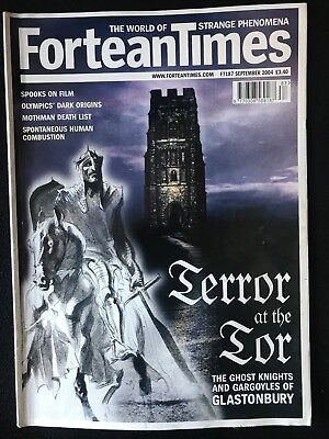 Fortean Times collectible back issues - Sept 2004 - FT187 - FREE P&P