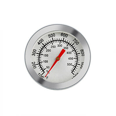 Thermometer Bratenthermometer Edelstahl BBQ Gasgrill Grillthermometer 50°C-500°C