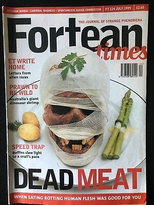 Fortean Times collectible back issues - July 1999 - FT124 - FREE P&P