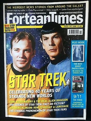Fortean Times collectible back issues  - Oct 2006 - FT215 - FREE P&P