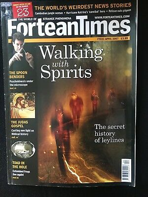 Fortean Times collectible back issues  - April 2007 - FT221 - FREE P&P