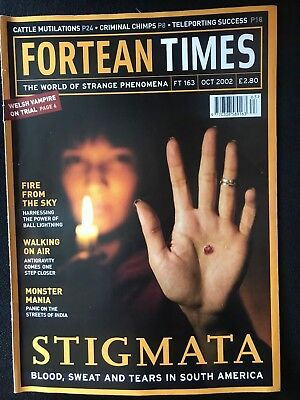 Fortean Times collectible back issues  - Oct 2002 - FT163 - FREE P&P