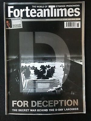 Fortean Times collectible back issues  - July 2004 - FT185 - FREE P&P