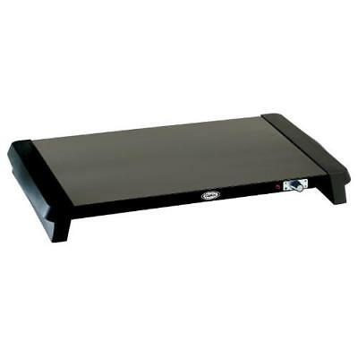 Cadco - WT-100 - 20 1/2 x 14 in Black Countertop Warming Shelf