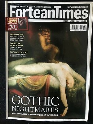Fortean Times collectible back issues  - March 2006 - FT207 - FREE P&P