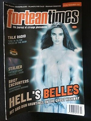 Fortean Times collectible back issues  - Nov 1997 - FT104 - FREE P&P