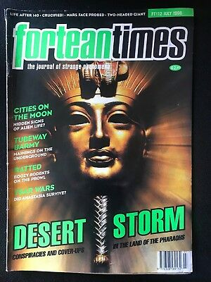 Fortean Times collectible back issues  - July 1998 - FT112 - FREE P&P