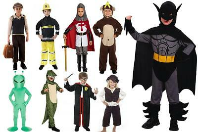Boys Fancy Dress Characters Childrens World Book Day Costumes WBD 2018