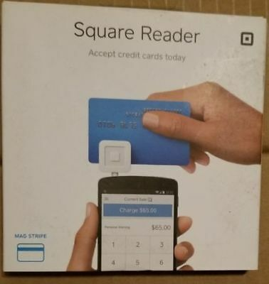Square Credit Debit Card Reader for Apple iPhone / ANDROID  W/ $10 BONUS NEW