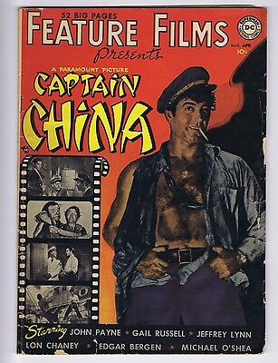 Feature Films Captain China #1 (G; taped tear ins. cvr) D.C. Comics (id# 15045