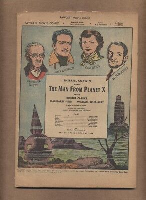 Fawcett Movie Comic 15 The Man From Planet X COVERLESS 1952 SCARCE (c#17669)