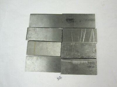 """8 Stainless Steel Flat Bar Stock 9/32"""" x 2-1/4"""" x 5-1/8"""" Knife making craft"""