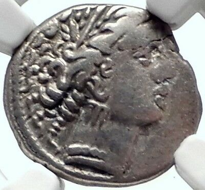 CELTIC Tribe of GALLIA CISALPINA Gaul 2-1CenBC Massalia Silver Coin NGC i68711
