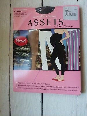 Assets By Spanx, Marvelous Momma Maternity, Lucky Leggings, Size 2, Slate, New.