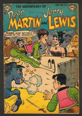 Adventures Of Dean Martin And Jerry Lewis #4 Dc Comics 1953 Only 1 On Ebay!!