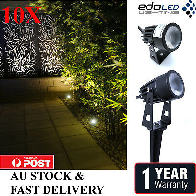 10x 12V 5W LED waterproof Outdoor Garden Spotlights landscape lights Yard Flood