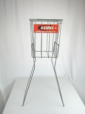 Gamma Hi-Rise 75 Tennis Ball Hopper Training Practice Aid Basket