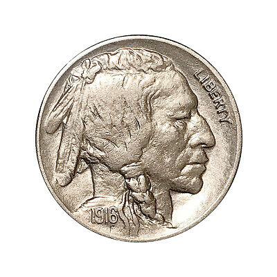 1916 D Buffalo Nickel - Choice BU / MS / UNC - Better Grade