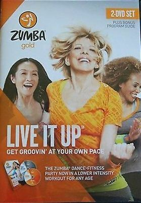 Zumba Gold Live It Up (Gold 2) Region 4 DVD New
