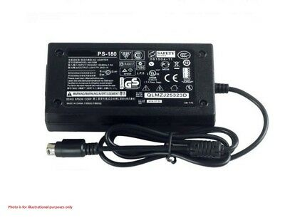 Genuine 3 Pin 24V AC Power Supply Adapter Charger EPSON PS-180 M159A Printer
